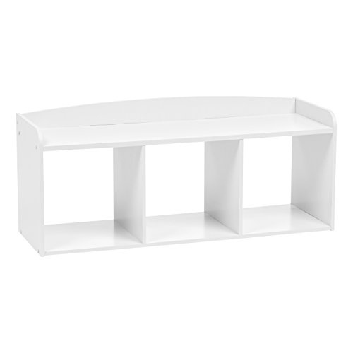 - IRIS USA, Inc. 595904 Kbn-3 Kid's Wooden Storage Bench, White