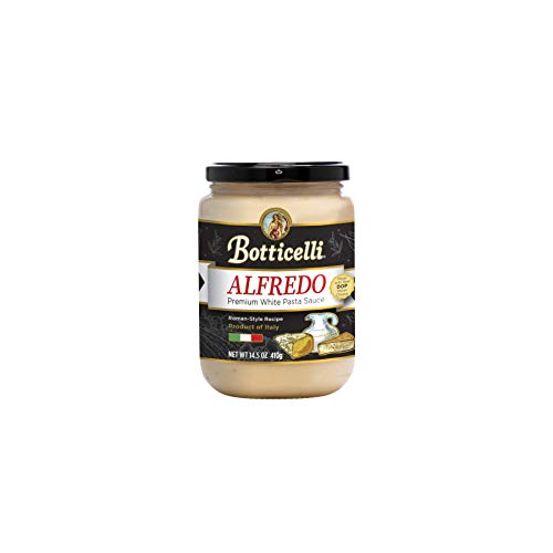 Botticelli Alfredo Premium Pasta Sauce. Delicious, Roman Style White Sauce, Crafted in Small Batches. ()