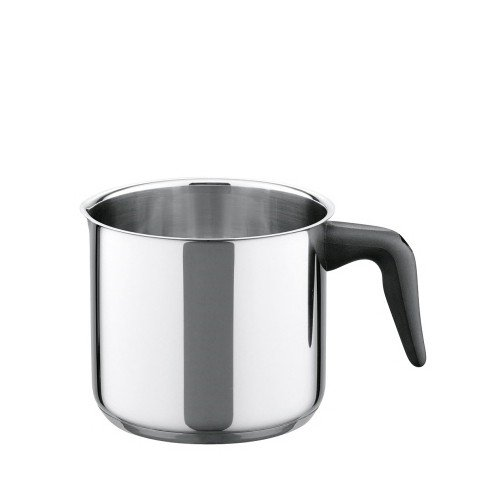 ELO 50814 Juwel De Luxe Stainless Steel 1.7-Quart Milk Pot with Spout, Induction Ready