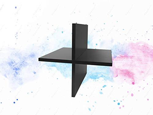 (GUPLUS-Quad Cube Storage Shelf, Multiple Finishes Creates four additional 13