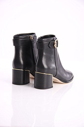 Leather Boots in Ankle Black Burch Womens Tory E816xXwH