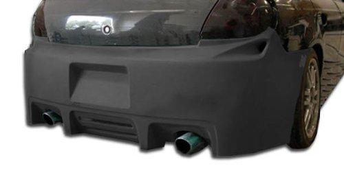Duraflex ED-YFP-672 Viper Rear Bumper Cover - 1 Piece Body Kit - Fits Dodge Neon 2000-2002