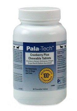 """Pala-Techâ""""¢ Canine/Feline Cranberry Plus Chewable Tablets, 60 Count, My Pet Supplies"""