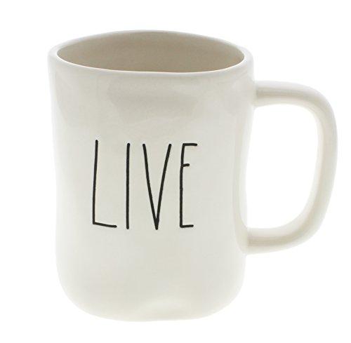 Rae Dunn by Magenta LIVE Ceramic LL Coffee Mug