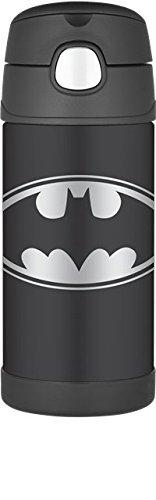 Termo Funtainer botella de 12 onzas, Batman