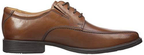 Clarks Men's Tilden Walk  Oxford, Dark Tan Leather, 10.5 W US