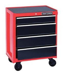 Craftsman Cabinet Hardware (Craftsman 4 Drawer Heavy Duty Rolling Tool Cabinet)