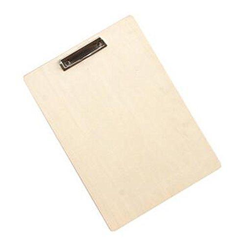 10pcs 8K Wood Sketch Pince Planche à dessin Collier de serrage