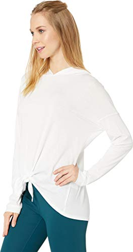 Beyond Yoga Women's All About It Tied Hoodie White Medium by Beyond Yoga (Image #1)