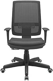 Cadeira Giratória Presidente Brizza Preto - Plaxmetal