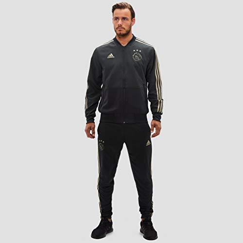 Adidas Woven Grey Ajax 2019 Jacket Presentation 2018 carbon xPrOxqAtTw