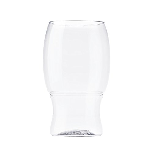 TOSSWARE 18oz Pint - recyclable beer plastic cup - SET OF 12 - stemless, shatterproof and BPA-free beer glasses by TOSSWARE (Image #2)