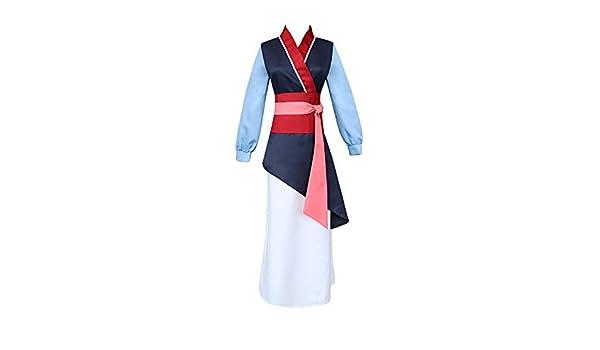 Tanwenling33 Disfraz de Mulan para Niñas, Disfraz de Princesa Hua ...