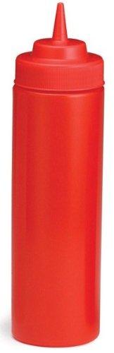 (Tablecraft 12 Oz Wide Mouth Ketchup W/ Standard Tip (11253K) 12/Box)