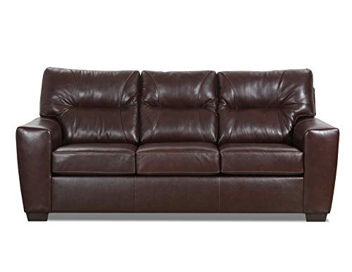 - Lane Home Furnishings 2043-03 Soft Touch Chestnut SOFA, Brown