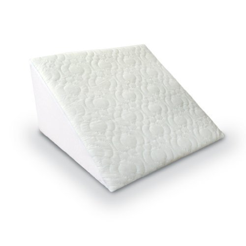 flex foam support bed wedge with removeable quilted cover 2 way comfort and support