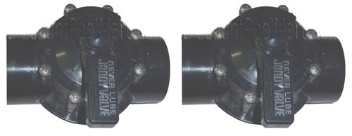 2 PACK - Jandy 2-Way Valves 2'' CPVC 4716 by jandy valve