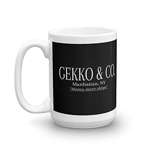 Gekko & Co. - Wall Street Movie - Gordon Gekko 15 Oz White ()