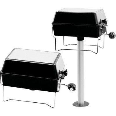 Outdoor Pedestal Grill - 9