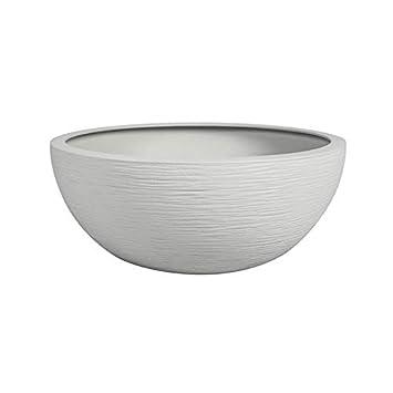 Vasque Graphit blanche - Ø 40 x 16.5cm 14.9L - EDA Plastique: Amazon ...