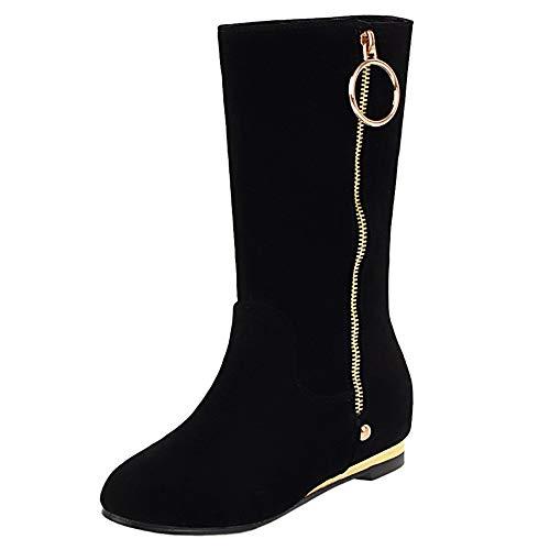 Stivali Stivali Stivali Donna NIGHT CHERRY Tacco Tacco Tacco Black Polpaccio Meta Nascosto Bx6Pqx1