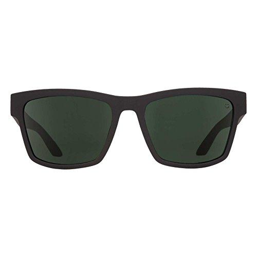 Noir Happy unique soleil Soft Homme Matte de Spy Green taille Black Lunettes Gray 7wq8FxI