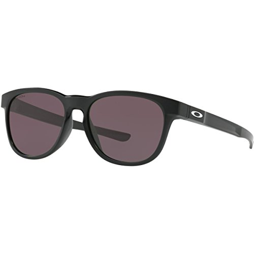 Oakley Men's Stringer Non-Polarized Iridium Rectangular Sunglasses, Matte Black, 55.0 - Oakley Classic