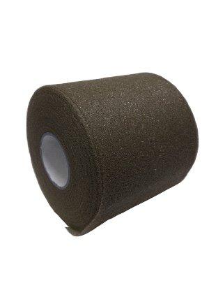 Tape Underwrap - Mueller Bulk Prewrap for Athletic Tape - 12 Rolls, Black