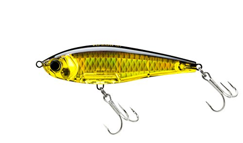 R1208-HGBL 3D Inshore Twitchbait, Color, Gold Black, 90mm 3-1/2