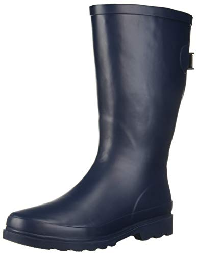 Western Chief Women Women's Wide Calf Rain Boot, Dot Pop, 10 M US