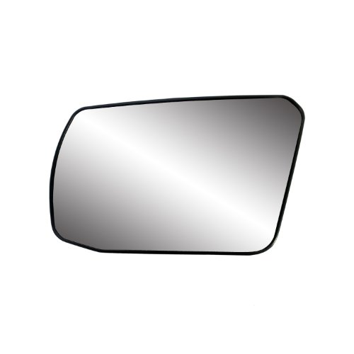 Fit System 88214 Nissan Altima 2.5L Engine Coupe/Sedan Left Side Power Non-Foldaway Replacement Mirror Glass with Backing (Nissan Altima Mirror Glass)
