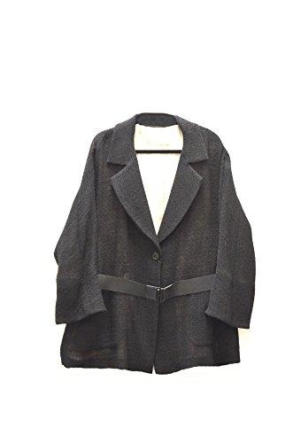 marina-rinaldi-womens-open-weave-silk-underlay-jacket-sz-18-black-80832mm