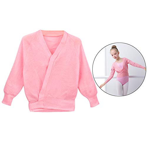 3ff7b7630fab3 Happy Cherry Kids Girls Long Sleeve Tie Knot Sweater Warm-Up Ballet Wrap  Shrug