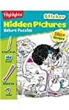 Highlights Sticker Hidden Pictures Nature Puzzles, Highlights for Children, 1620917661