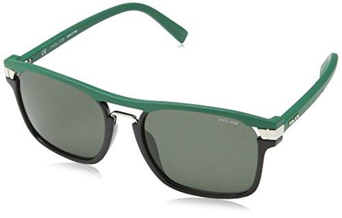 Semi Soleil Vert de matt Police Lunettes Green Black shiny Homme CPwgEnaq