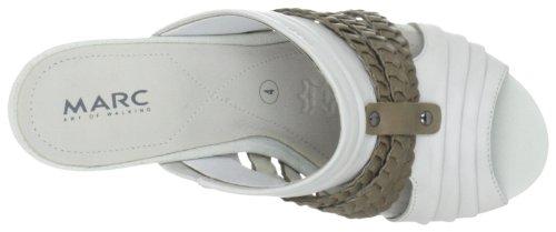 Marc Shoes 1.457.08-01/223-Mara, Damen Clogs & Pantoletten Weiss (offwhite-fango 223)
