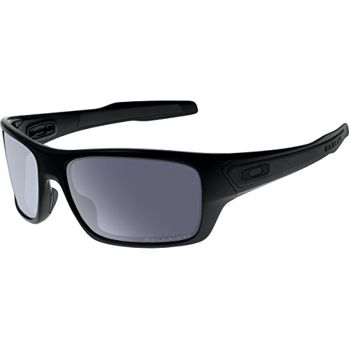 Oakley Men's Turbine OO9263-07 Polarized Rectangular for sale  Delivered anywhere in USA