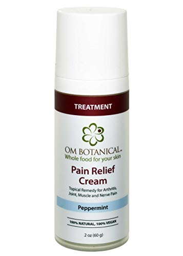Pain Relief Cream | Topical Treatment for Numbing Joint, Back, Muscle, Nerve, Arthritis Pain w/Organic Hemp, Capsaicin, Arnica, Comfrey, Glucosamine, MSM, Devils Claw, Willow Bark. All Natural