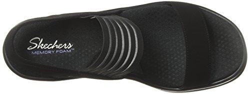 Wedges WDIE FI SCI Black RUMBLERS Skechers Women's WIDTH RwzaICnYq
