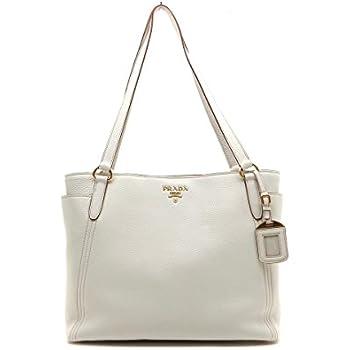 163b1882140d ... promo code for prada snow white vitello daino designer shopping tote bag  for women 1bg970 19fce