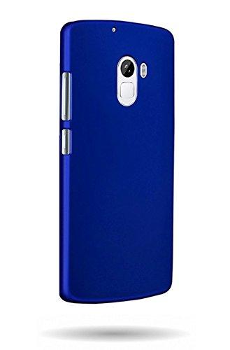buy online 9ad39 7da0b Wow Imagine Rubberised Matte Hard Case Back Cover For Lenovo K4 Note - Uber  Blue