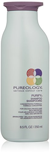 Pureology Purify Shampoo for Color Treated Hair, 8.5 Fl Oz (The Best Shampoo For Color Treated Hair)