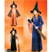 Costume Pattern Goddess (McCall's Costumes Pattern M4620 ~ Children's and Girl's Witch Costumes ~ Size)