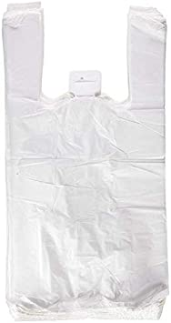 BOLSA de Plastico Asa Camiseta 30 x 40 cm. (200 Unidades)