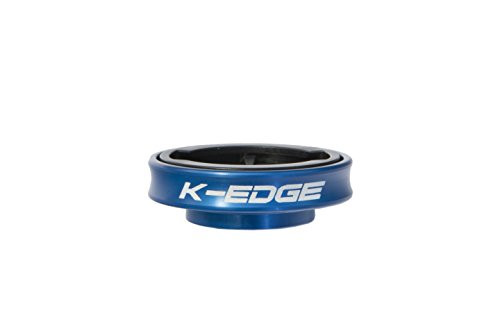 K-Edge Gravity Cap Computer Mount for Garmin Blue, One Size