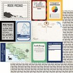 Scrapbook Customs - Alaska Cruise Collection - 12 x 12 Double Sided Paper - Inside Passage - Journal
