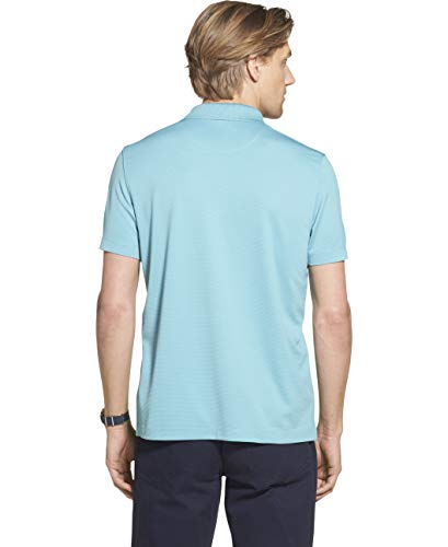 Geoffrey Beene Mens Big and Tall Short Sleeve Ottoman Solid Polo Shirt
