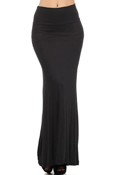 Street 228 high waisted fitted Maxi skirt (large)