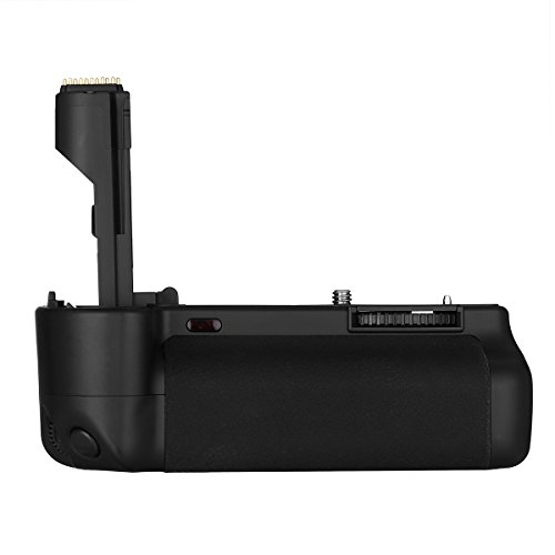- Powerextra Vertical BG-E2N Battery Grip + AA-Size Battery Holder Replacement for Canon EOS 20D 30D 40D 50D Digital SLR Camera Work with 2 Pcs BP-511 Batteries or 6 AA-Size Batteries