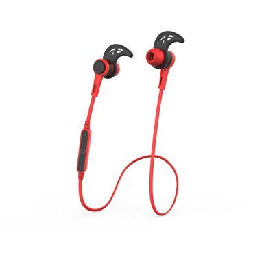 GetBig BX315 Bluetooth V4.0 Gaming Headset Hi-Fi stereo Sound Sweatproof and waterproof Ergonomic design for ourdoor & running & gym & sports (Red) Review